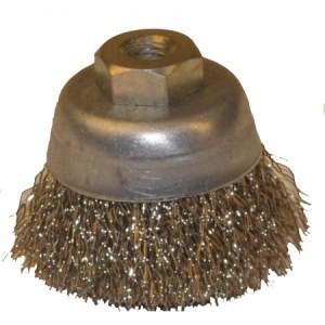 Насадка-щетка круглая с щетиной из латуни для CVK30, диам. 50мм, арт. CVK29B
