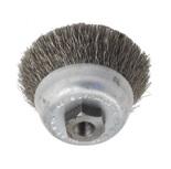Насадка-щетка круглая с щетиной из стали для CVK57B, CVK57C, диам.60мм, арт. CVK31D